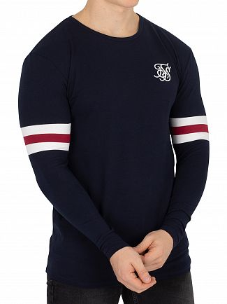 Sik Silk Blue Longsleeved Tournament T-Shirt