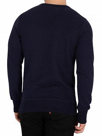 Superdry Navy Trophy Sweatshirt