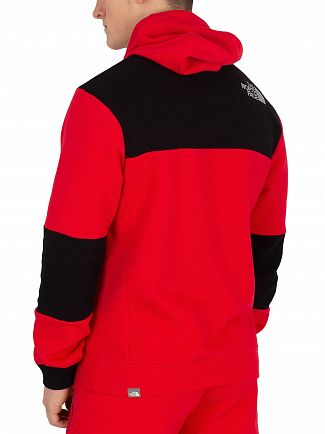 The North Face Red Himalayan Pullover Hoodie