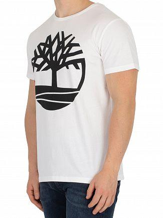 Timberland White Seasonal Logo T-Shirt