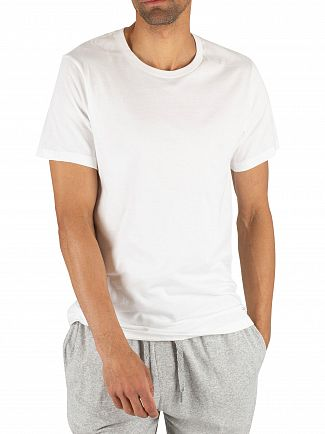 Calvin Klein White/White 2 Pack Cotton T-Shirts