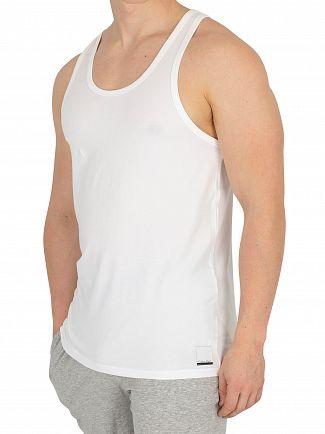 Calvin Klein White/White 2 Pack ID Vests