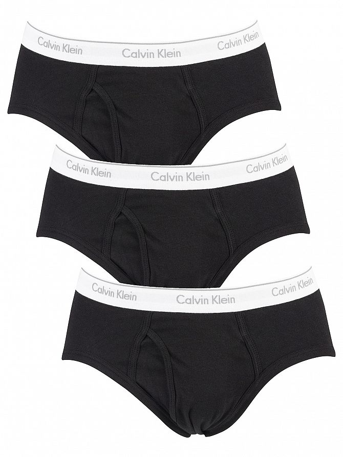 Calvin Klein Black 3 Pack Briefs