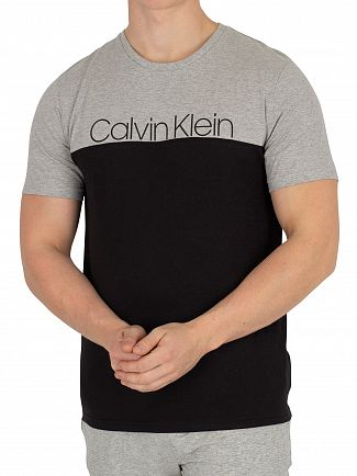 Calvin Klein Grey Heather Crew Neck T-Shirt