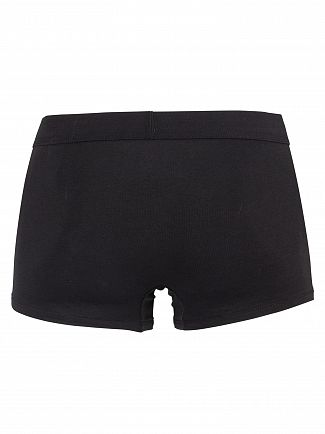 Calvin Klein Black/White Patch Monogram Limited Edition Trunks