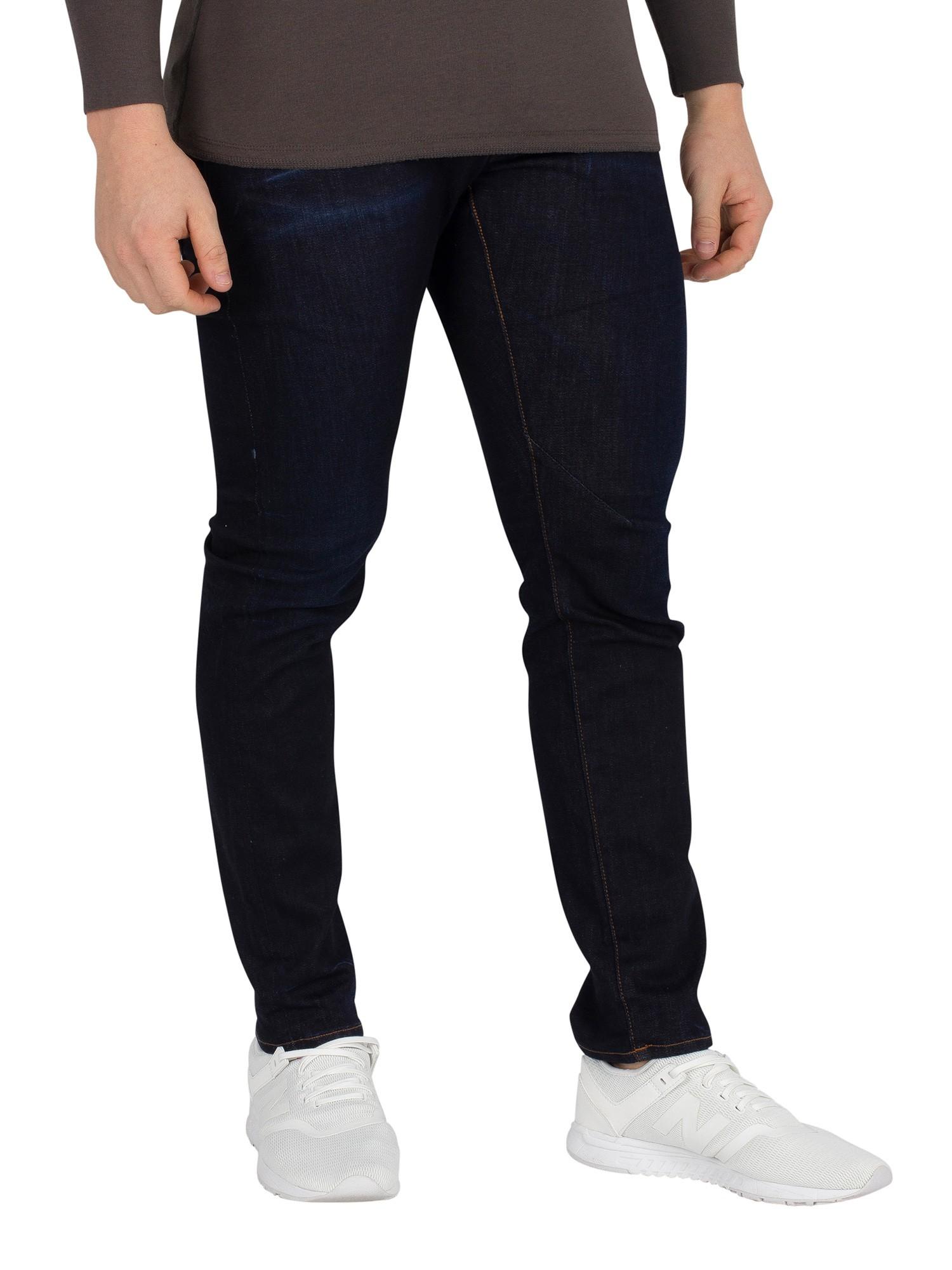 8285ba1d3b7 G-Star Men's D-Staq 5 Pocket Slim Fit Jeans, Blue | eBay