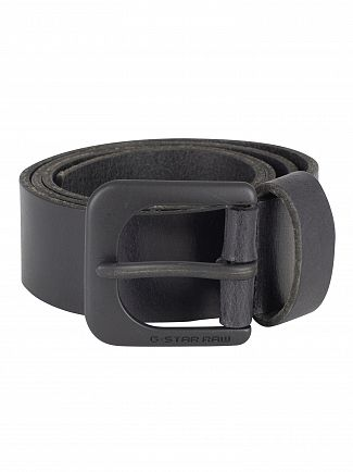 G-Star Black/Black Zed Belt