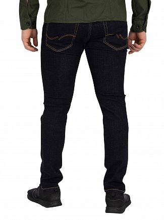 Jack & Jones Blue Denim Glenn Original Slim Fit 813 Jeans