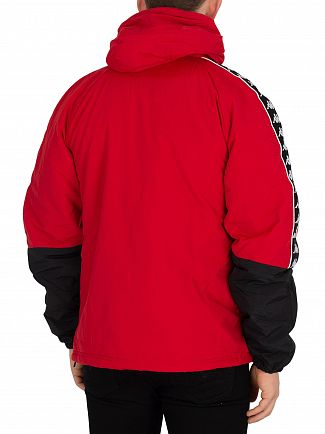 Kappa Red/Dark Black/White Banda Amaul Slim Fit Jacket