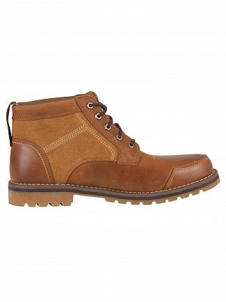 Timberland Brown Larchmont Chukka Leather Boots