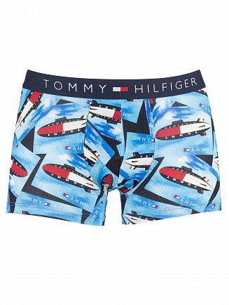 Tommy Hilfiger Navy Blazer Icon Patten Trunks