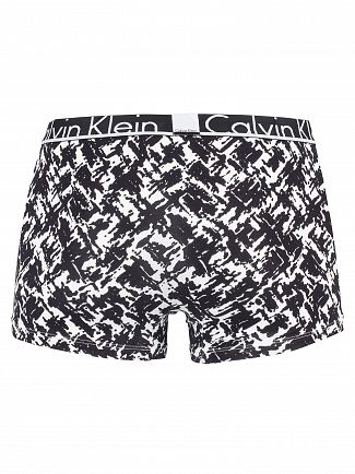 Calvin Klein Viva Print Black Patten Trunks