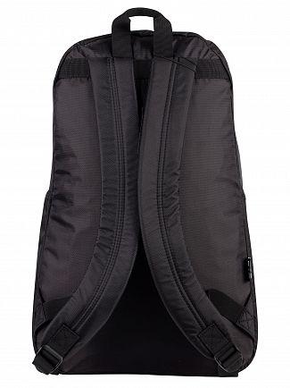 EA7 Black Train Prime Backpack