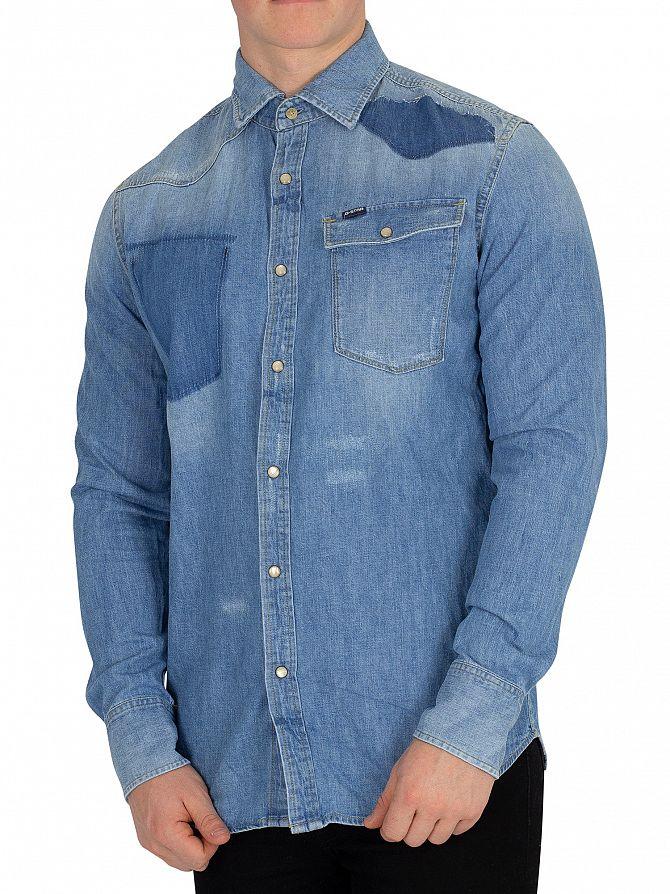 G-Star Light Aged Restored 3301 Slim Shirt