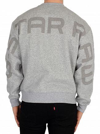 G-Star Grey Heather Graphic Sweatshirt