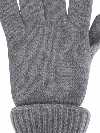 Lacoste Grey Croc Gloves