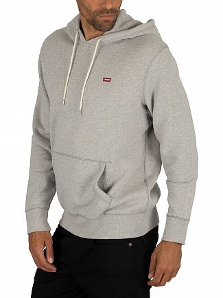 Levi's Grey Heather Original Pullover Hoodie