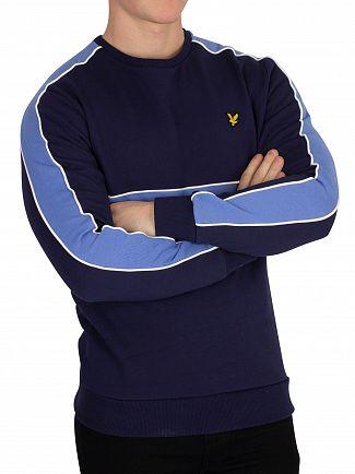 Lyle & Scott Navy Cut & Sew Sweatshirt