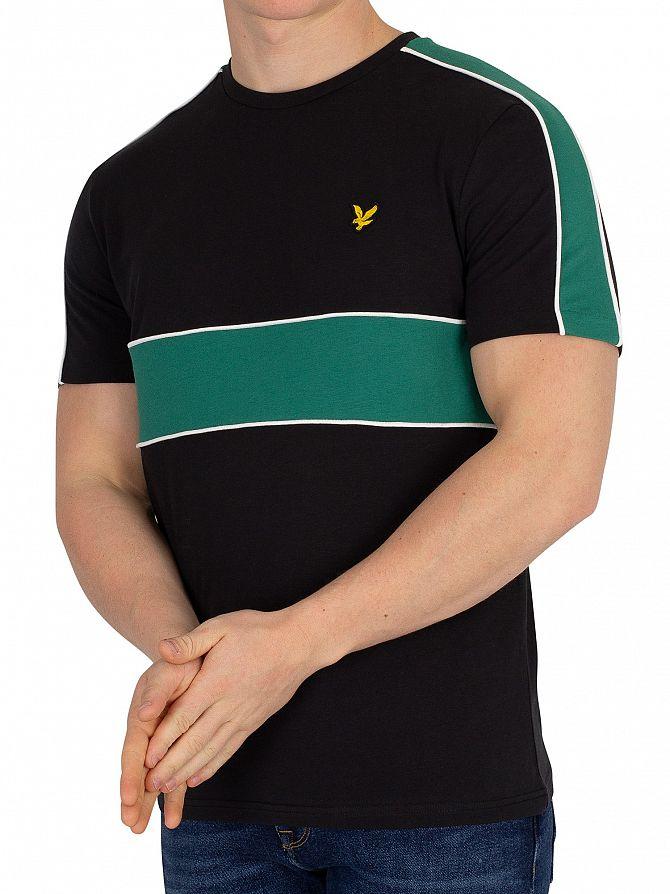Lyle & Scott True Black Cut & Sew T-Shirt