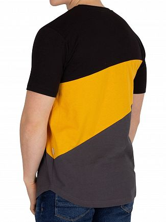 Nicce London Black/Sunrise Yellow/Coal Canyon T-Shirt