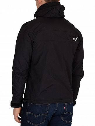 Superdry Black/Black Arctic Cliff Hiker Jacket