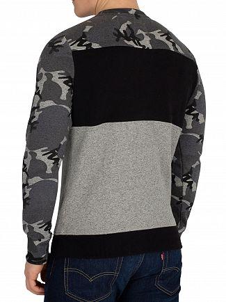 Superdry Snow Camo Grit Vintage Logo Sweatshirt