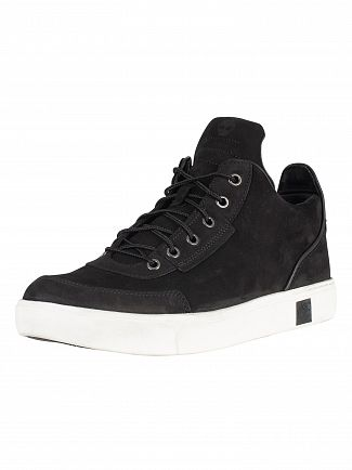 Timberland Black Amherst High Top Chukka Trainers