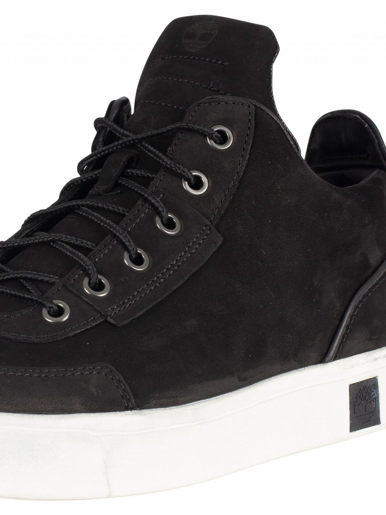 3adb0c7d08bc Timberland Black Amherst High Top Chukka Trainers