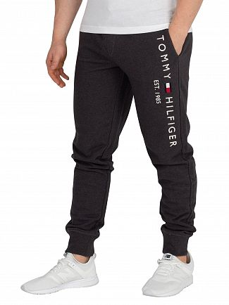 Tommy Hilfiger Charcoal Heather Basic Branded Joggers