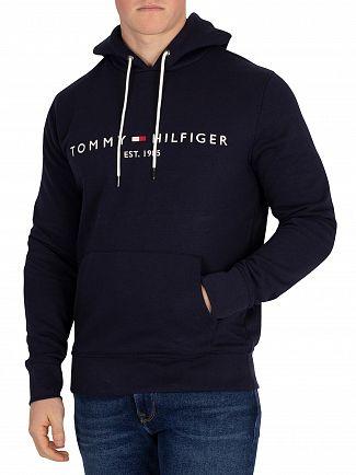 Tommy Hilfiger Navy Blazer Logo Pullover Hoodie