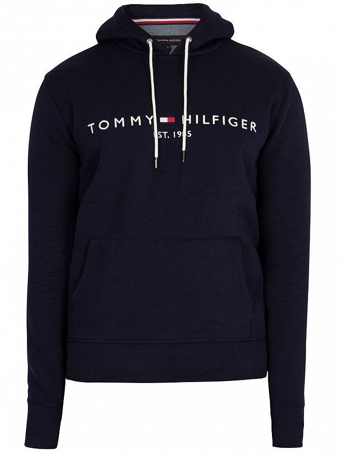 c42f65f69 Tommy Hilfiger Men s Logo Pullover Hoodie