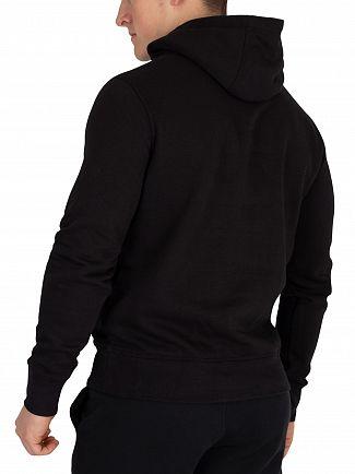 Tommy Hilfiger Jet Black Logo Pullover Hoodie