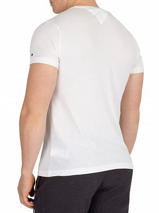 Tommy Hilfiger Bright White T-Script T-Shirt