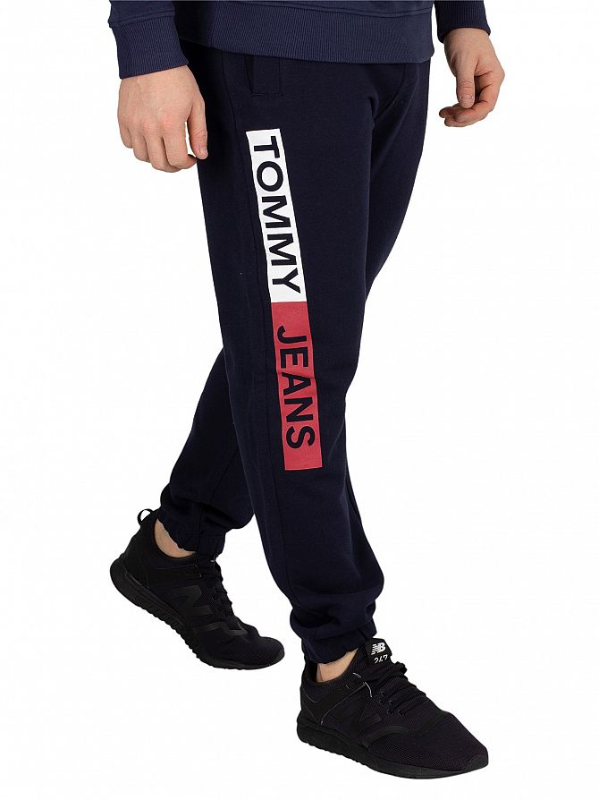 Tommy Jeans Black Iris Navy Essential Joggers