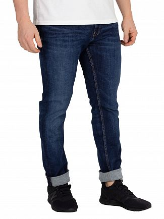 Tommy Jeans Aspen Dark Blue Slim Tapered Steve Jeans