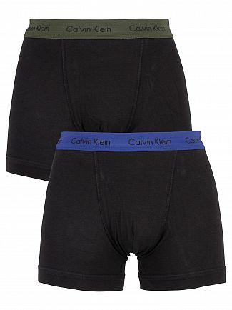 Calvin Klein Dark Night/Forest Bight 2 Pack Trunks