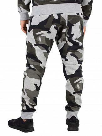 G-Star Grey Heather Graphic DSP2 5622 Straight Tapered Joggers