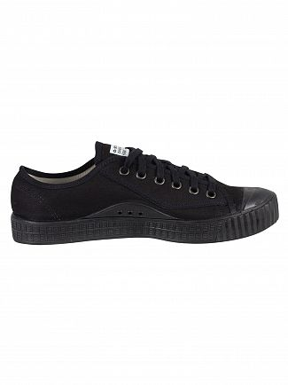 G-Star Black Rovulc Low Trainers