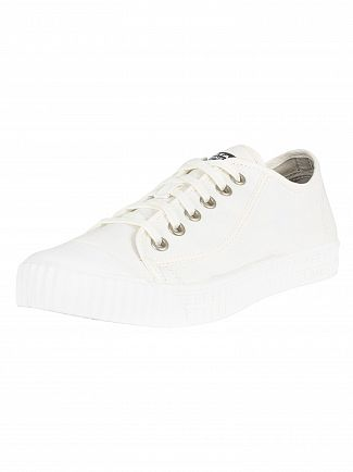 G-Star White Rovulc Low Trainers