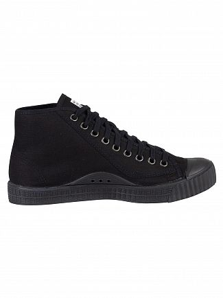 G-Star Black Rovulc Mid Trainers