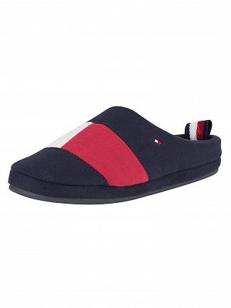 Tommy Hilfiger Midnight Flag Home Slippers