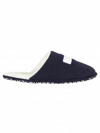 Tommy Hilfiger Midnight Varsity Flag Home Slippers