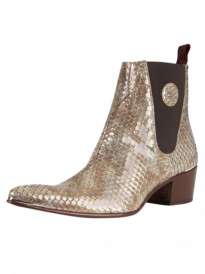 Jeffery West Tan Medina Leather Boots