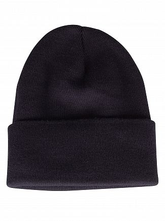 Levi's Navy Blue Slouchy Red Tab Beanie