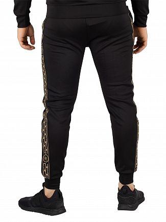Sik Silk Black Cartel Cropped Cuffed Joggers