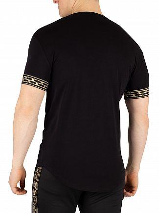 Sik Silk Black Cartel Lounge T-Shirt