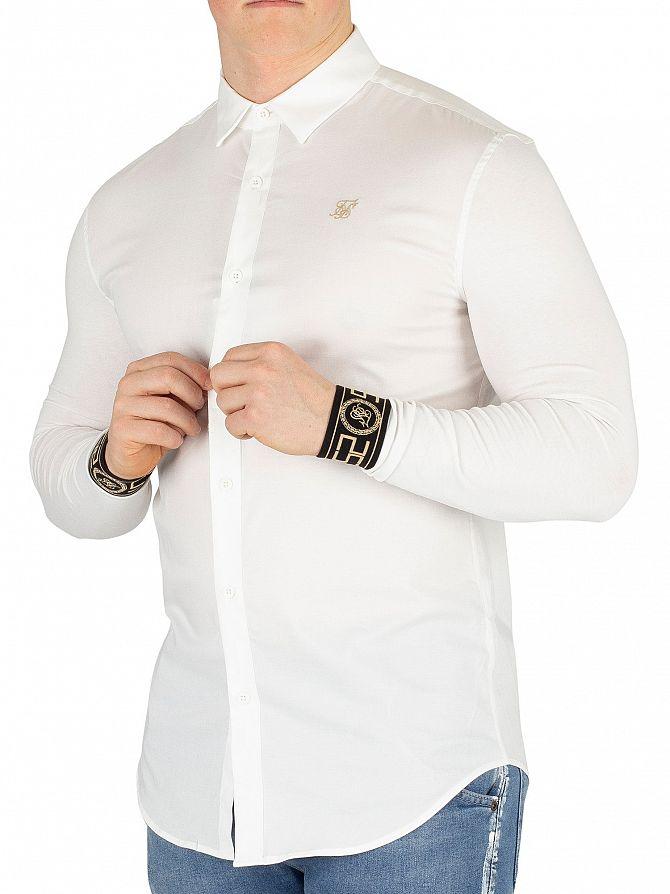 Sik Silk White/Gold Cartel Shirt