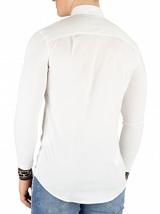 Sik Silk White/Gold Cartel Shirt