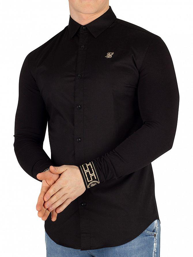 Sik Silk Black/Gold Cartel Shirt