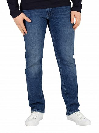Tommy Hilfiger Elmore Indigo Denton Straight Fit Jeans